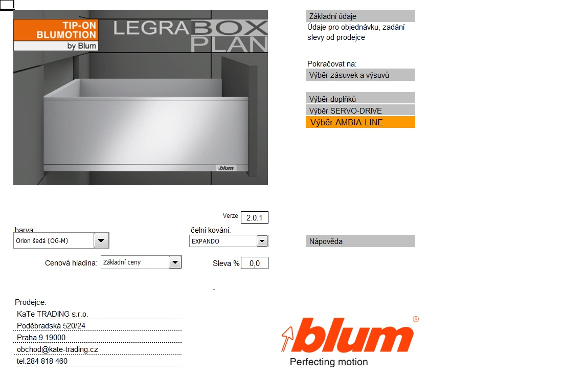 Box plan Legrabox